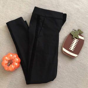 LOFT Velvet Stripe Pants
